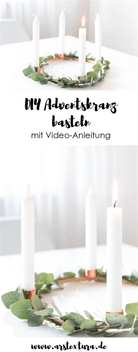 Stickrahmen Selber Machen by Adventskranz Und Adventskalender Basteln Ideas For
