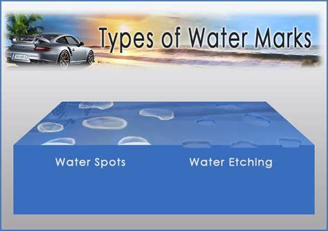 ¿cómo Quitar Marcas De Agua En Tu Coche?
