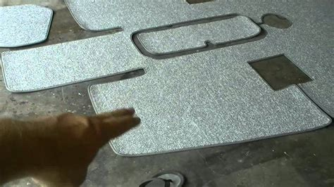 Boat Carpet For Sea Ray by Snap In Carpet Installation In The Sea Ray Youtube