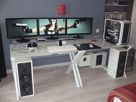 pc de bureau gaming le mod de mon 600t et de mon bureau white