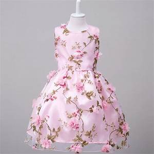 2 to 14 years old girls dresses 2016 summer flower girl for Dresses for 12 year olds for a wedding
