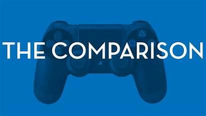 Xbox Ps4 Comparison Had Playstation Gaming Both