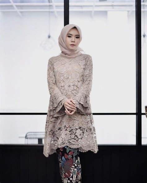 pin  diah kishmawati  dress kebaya kebaya hijab kebaya lace