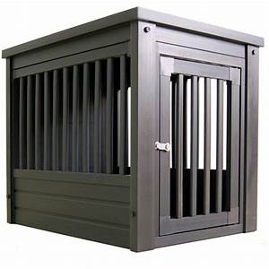 New age pet extra large dog crate end table walmartcom for Xl dog crate end table