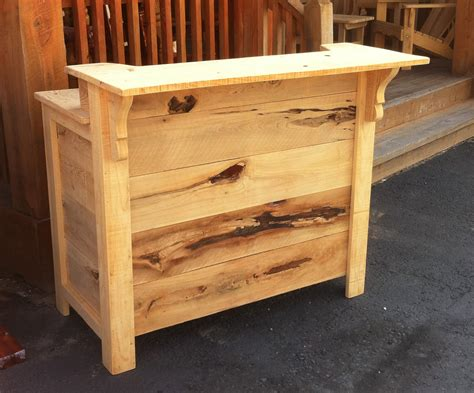 Wood Bar Plans Designs