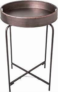 Plateau Rond Pour Table : table plateau rond en fer taille 1 ~ Teatrodelosmanantiales.com Idées de Décoration