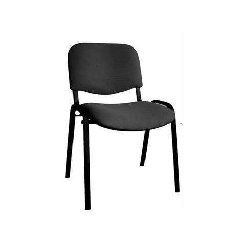 chaise reunion chaise de reunion jess m3 pieds noir assemblable