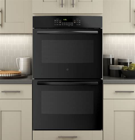 ge  built  double wall oven  convection