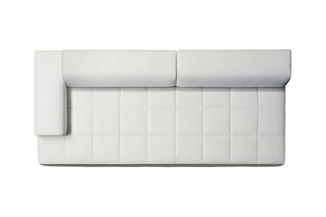 Quadra 2 Seater Sofa Low Arms Poltrona Frau