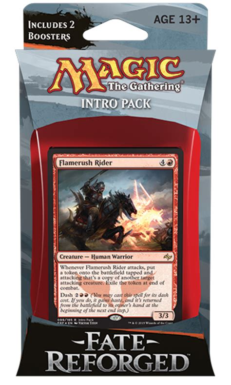Sealed Deck Generator Fate Reforged by Fate Reforged Intro Pack Magic Products 187 Intro