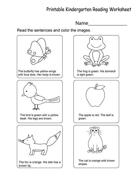 printable compilation  kindergarten worksheets