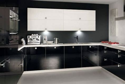 black and white kitchen accessories бело черная кухня 7847
