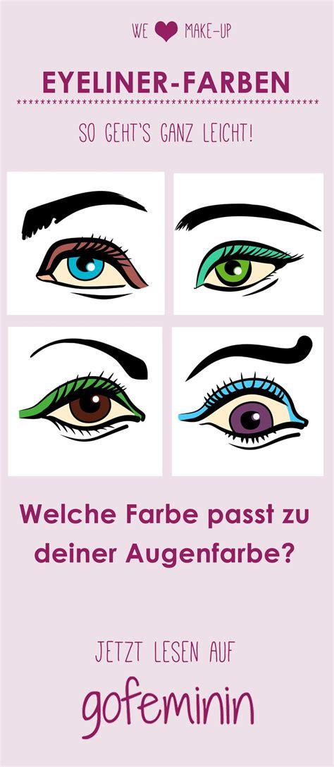 welche farbe passt zu mintgrün welche eyelinerfarbe passt zu mir so bringst du deine