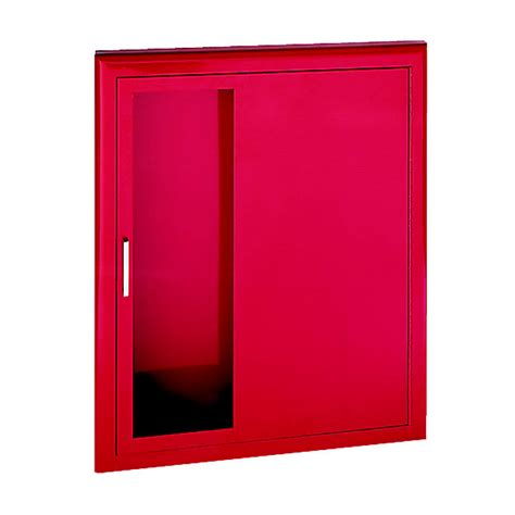 recessed extinguisher cabinet detail semi recessed hose and extinguisher cabinet jl