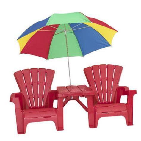 american plastic toys kid s adirondack chair set walmart
