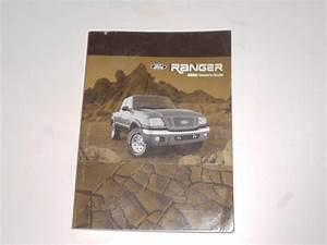 2004 Ford Ranger Owners Manual Book  With Images