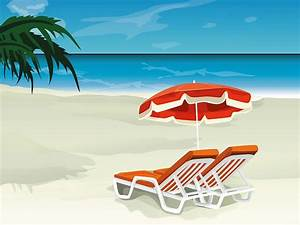 Tropical Beach Vector illustration 1600*1200 1 - Wallcoo.net