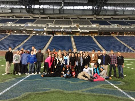 Ford Field & Comerica Park - Madison High School Business