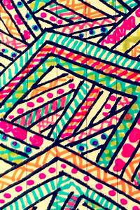 Hand drawn Aztec prints | wallpaper | Pinterest
