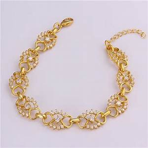 Gold Bracelets For Girls Pictures to Pin on Pinterest ...