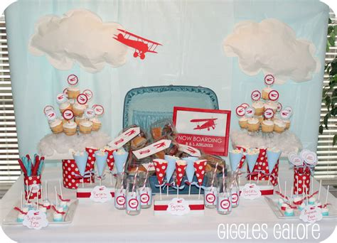 Now Boarding B&l Airlines {airplane Party}