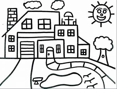 Coloring Pages Dollhouse Printable Getcolorings