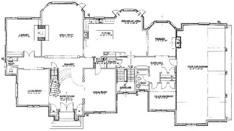 mobile home floor plans double wide     mobile