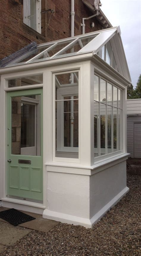 Front Door Porch by Replacement Entrance Porch In Hardwood For The House