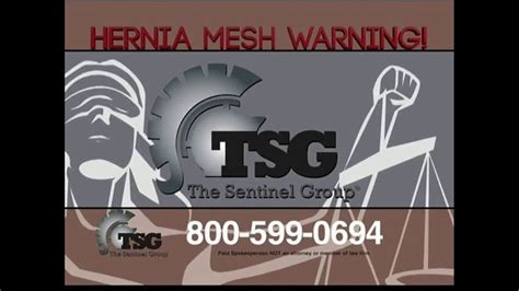 sentinel group tv commercial hernia mesh implant