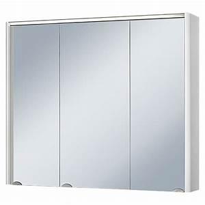 Bad Spiegelschrank 80 Cm Breit : riva spiegelschrank verdal breite 80 cm 3 t rig mdf mit beleuchtung led ~ Bigdaddyawards.com Haus und Dekorationen