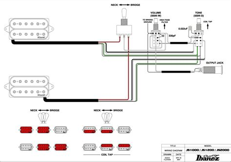 ibanez hsh wiring diagram 25 wiring diagram images