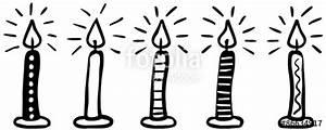 Weihnachtsmotive Schwarz Weiß : 5 gemusterte kerzen handgezeichnet schwarz wei vektor freigestellt stockfotos und ~ Buech-reservation.com Haus und Dekorationen