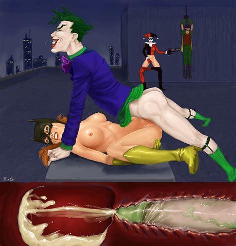 Barbara Gordon Sex With Joker Batgirl Porn Gallery Superheroes Pictures Luscious Hentai