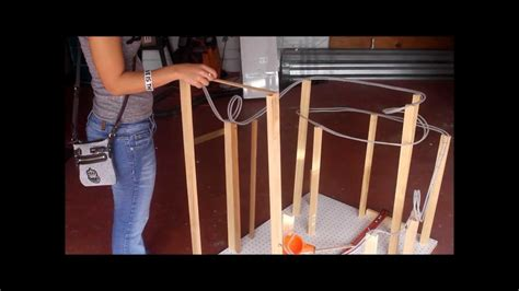 marble roller coaster physics project poly tubing youtube