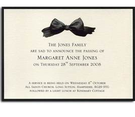 funeral booklets funeral announcement cards announcement cards and