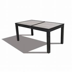 Table Jardin Composite : table composite extensible 160 220 new york achat vente table de jardin tables de jardin ~ Teatrodelosmanantiales.com Idées de Décoration