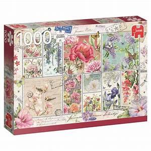 Puzzle Online Kaufen : blumen briefmarken 1000 teile jumbo puzzle online kaufen ~ Watch28wear.com Haus und Dekorationen