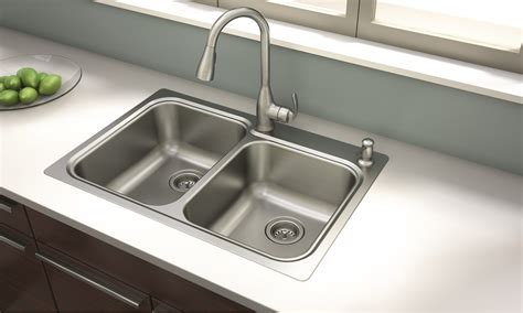 New Moen® Kelsa™ Faucet And Sink Combination Offers