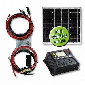 Mini Solaranlage Für Gartenhaus : 20 watt garten solar set mini typ gs 20 12 10 pwm ~ Articles-book.com Haus und Dekorationen