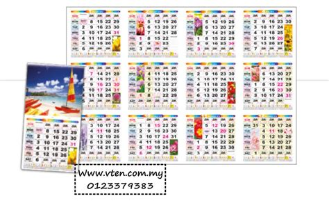 custom calendar malaysia desk ca pm