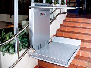 Außen Treppenlift für Rollstuhl Bilder und Fotos