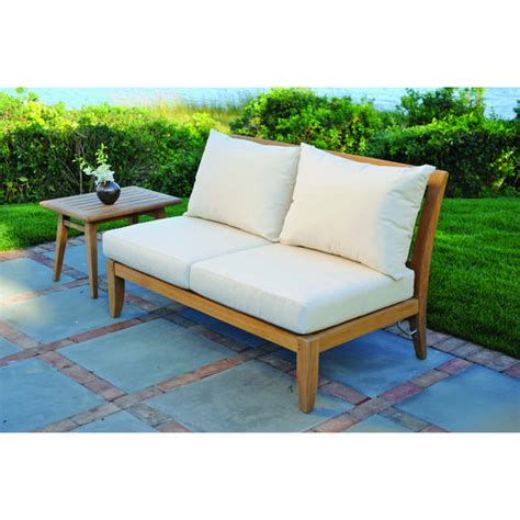 kingsley bate ipanema sectional armless settee