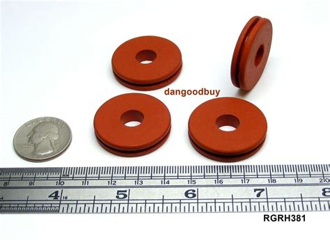 high temperature silicone rubber grommet fits  hole