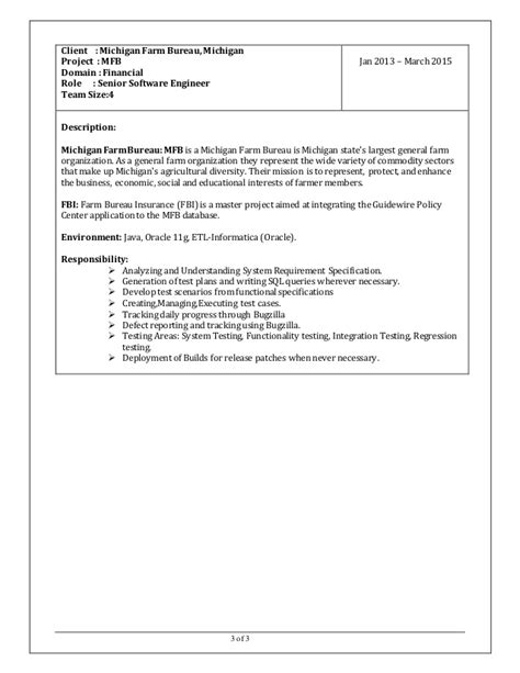 Data Warehousing Testing Resume Sle by Etl Testing Resume 56 Images Etl Testing Resumes