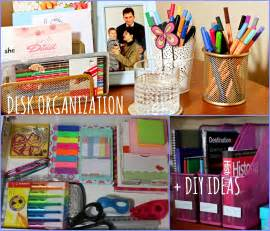 ideas to organize kitchen desk organization diy ideas back to school