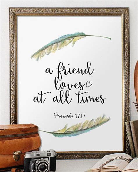 bible verse art scripture printable verses  friendship