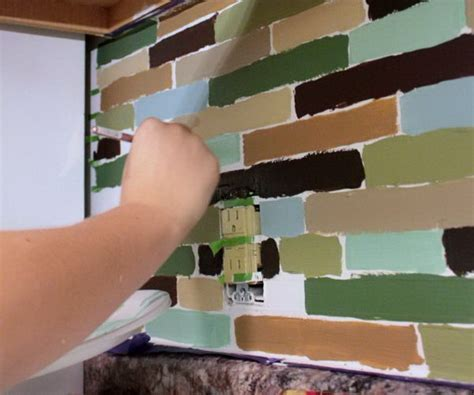 25  Frugal and Creative Kitchen Backsplash DIY Projects