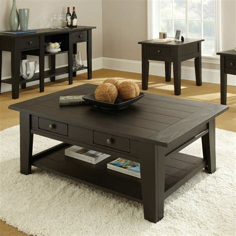 Enjoy free shipping on most. Dark Wood Coffee Table Set Furnitures | Roy Home Design