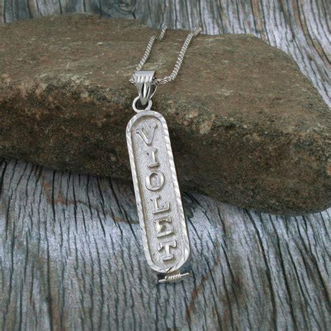 arabic cartouche monogram necklace arabic necklace cartouche necklace personalized