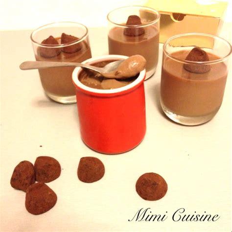 recette thermomix dessert chocolat cr 232 mes dessert aux truffes recette thermomix mimi cuisine